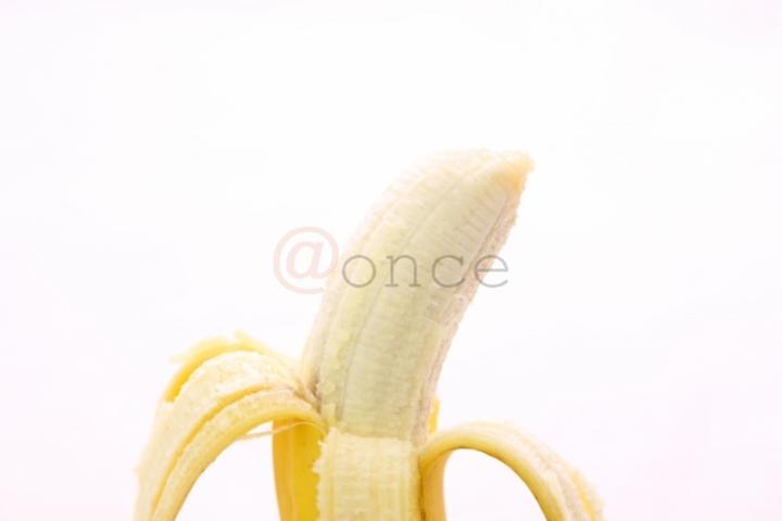 むけたバナナ